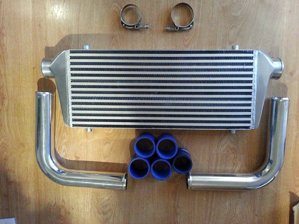 Intercooler FMIC uni 600x300x76
